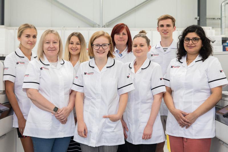 nationwide pathology lab team